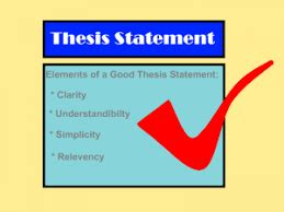 Developing a Thesis Statement DIFFERENT TYPES OF THESIS